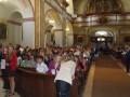Předání vysvědčení - kostel sv. Petra a Pavla